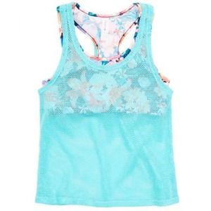 NWT - Swim Top With Cover Up
